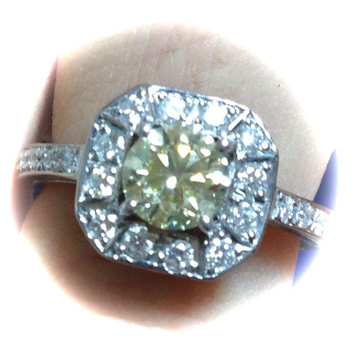 プロポーズでもらった婚約指輪