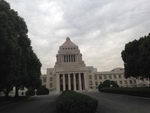 国会議事堂正面玄関