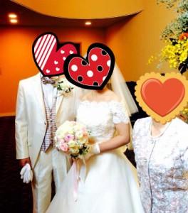 成婚者カップルの挙式