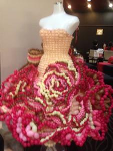 バルーンのウェディングドレス
