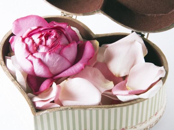 成婚退会のお祝いの花