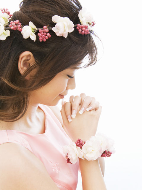 結婚式の祈り