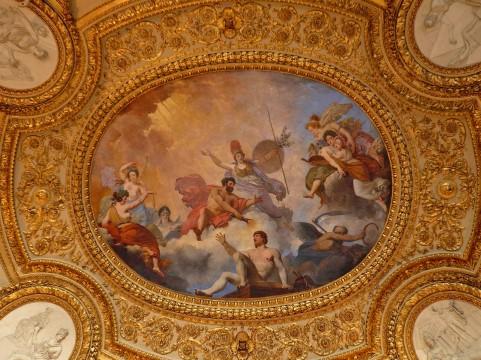 教会の天井画