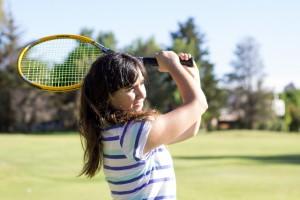 趣味はテニス